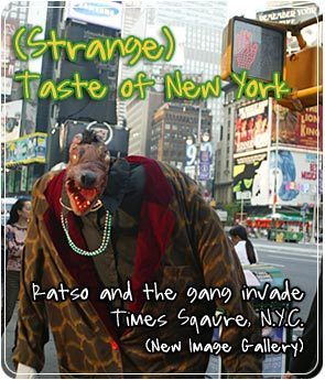 (Strange) Taste of New York